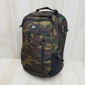 Vans NEW Backpack Green Camo Laptop Bag